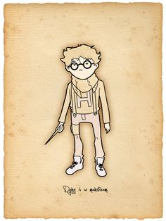 Harry Potter Hipster | Vagabundos MX