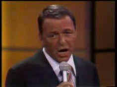 Frank Sinatra My Way  Yo tambien intento vivir a mi manera,pero sin ese pedazo de voz de Frankie XDDD