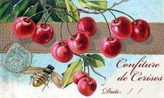 Imprimolandia: Etiquetas para confitura de cerezas