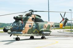 In Sintra is one of the three Air Force Museums. This Sud Aviation SA-330C Puma was in 2006 included in the collection because the Puma helicopters were taken out of service. This museum can be contacted via http://www.emfa.pt/www/po/musar/index.php?lang=ing