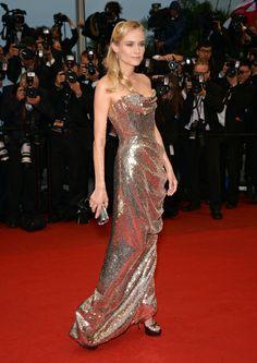 Diane Kruger In Vivienne Westwood – 'Amour' Cannes Film Festival Premiere