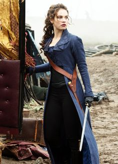 Lily James in 'Pride and Prejudice and Zombies' (2016).