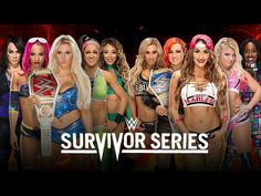WWE Survivor Series 2016 Team SmackDown Live (Nikki) vs Team Raw (Charlo...