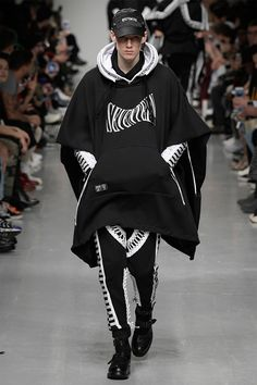 KTZ unveiled its Fall/Winter 2017 collection during London Fashion Week Men's.