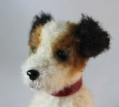 Jack Russell Puppy  PDF sewing pattern for a mohair by EmmaHallArt