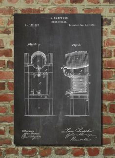 Hey, I found this really awesome Etsy listing at http://www.etsy.com/listing/175446987/beer-cooler-keg-patent-wall-art-poster