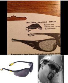 7729547d4f8 DEWALT Safety Glasses REINFORCER RX 2.0 Diopter With Smoke Lens Dpg59-220c