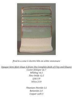 Opaque Semi Matt Glaze  4
