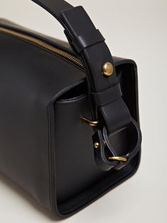 f57e907cd75 Fleet Ilya women s Box Bag from AW12 collection in black. Leather  Accessories, Handbag Accessories
