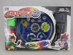 4pcs/set Beyblade Arena Spinning Top Metal Fight Beyblad Beyblade Metal Fusion Children Gifts Classic Toys WJ086