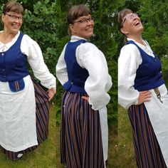 My own Ylä-Savo costume Folklore, Finland, Costumes, Knitting, Craft, Fashion, Soap, Hand Crafts, Moda