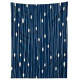 Heather Dutton Navy Entangled Tapestry   DENY Designs Home Accessories