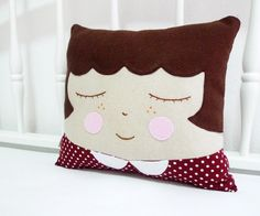 pillow people: It would be cute to make them look like your kids for them to put on their beds.