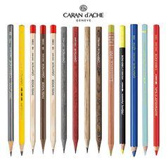 Carandache-Pencils-Range Pastel Pencils, Watercolor Pencils, Colored Pencils, 2 Pencil, Pencil Drawings, Derwent Pencils, Wooden Pencils, Artist Pencils