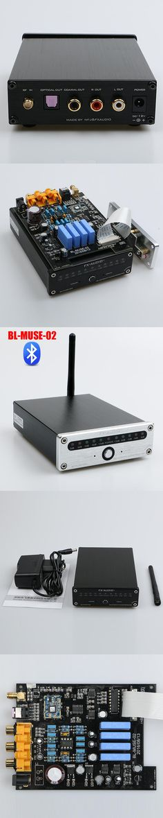 2017 New FX-Audio BL-MUSE-02 CSR8670 NE5532P TA7666 Bluetooth 4.0 HIFI audio receiver fiber coax AUX lossless APTX 12V1A