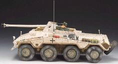 World War II German Winter SS040B SD. KFZ. 4 Wheeled Anti Tank Gun - Made by Thomas Gunn Military Miniatures and Models. Factory made, hand assembled, painted and boxed in a padded decorative box. Excellent gift for the enthusiast.