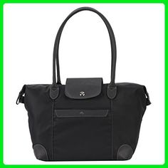 Banuce Women s Waterproof Nylon Large Tote Shoulder Bag Color Black - Totes  ( Amazon Partner-Link) 1bf04d72d5