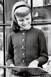 NEW! Classic Cardigan Sweater knit patterns from Fashions & Fun for the Almost Teens, Bernat Handicrafter Book No. 59 from 1957.