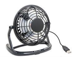 E-joy USB Powered Mini Ultra Quiet Cute Desktop Cooling Fan for Bedroom, Office, Outdoor, Etc (Black) Desktop Computers, Laptop Computers, Cool Desk Toys, Adaptador Usb, Laptop Cooling Pad, Portable Fan, Desk Fan, Usb Gadgets, Thing 1