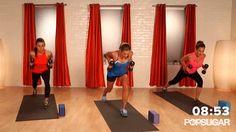 Triceps Kickback With Split Lunge