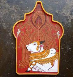 Cow Art, Art Painting, Indian Art Paintings, Mural Art, Buddha Art, Kerala Mural Painting, Art Prints Online, Pichwai Paintings, Indian Art Gallery