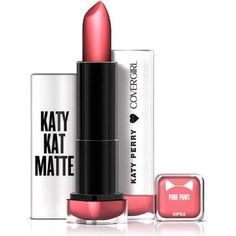 Covergirl Katy Kat Matte Lipstick in Pink Paws as seen on Katy Perry