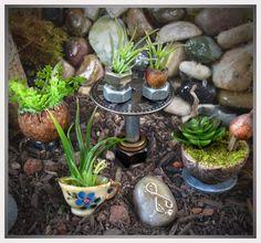 Miniature plants // Fairy House Accessory // Fairy Gardening on Etsy, $12.00