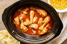 Slow Cooker Buffalo Ranch Drumsticks is part of Spicy snack mix recipes Crock Pot - Slow Cooker Buffalo Ranch Chicken Drumsticks are a spicy dinner that I can't get enough of! Healthy Crockpot Recipes, Easy Chicken Recipes, Easy Dinner Recipes, Slow Cooker Recipes, Crockpot Meals, Vegan Recipes, Crockpot Dishes, Slow Cooker Lasagna, Slow Cooker Chicken