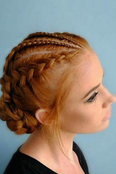 18 braided hairstyles for every hair type - impressive 18 braided hairstyles fo. - 18 braided hairstyles for every hair type – impressive 18 braided hairstyles for every hair type - Medium Hair Styles, Curly Hair Styles, Natural Hair Styles, Braid Hair Styles, Hair Plaits, Natural Curls, Pretty Braided Hairstyles, Boho Hairstyles, Asymmetrical Hairstyles