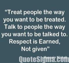 Bildresultat för respect quote