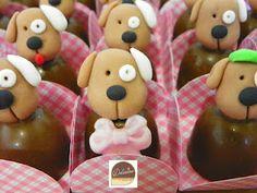 convite festa cachorrinhos - Pesquisa Google