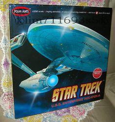 Star Trek USS Enterprise NCC-1701-A 1:350 Scale Model Kit