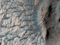 This observation from NASA's Mars Reconnaissance Orbiter shows the floor of a large impact crater in the southern highlands, north of the giant Hellas impact basin. Solar Panel Cost, Solar Energy Panels, Tres Belle Photo, The Doors Of Perception, Planetary Science, Science And Nature, Gifts In A Mug, Poster Size Prints, Original Artwork