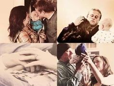 The teller family. Sons of anarchy. Jax and Tara