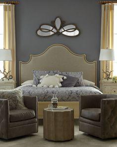 Moana Upholstered King Bed