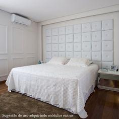 Cabeceira Modular Chambre - Tamanho King :: Decor in Casa