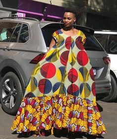 Traditional Shweshwe Dresses 2019 For WeddingYou can find Traditional dresses and more on our website.Traditional Shweshwe Dresses 2019 For Wedding African Dresses For Women, African Print Dresses, African Print Fashion, African Fashion Dresses, African Attire, Traditional Dresses Designs, African Fashion Traditional, Shweshwe Dresses, Maxi Gowns