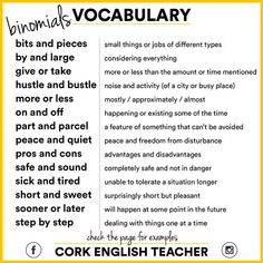 vocabulary related to travel English Writing Skills, Learn English Grammar, Learn English Words, English Language Learning, Teaching English, Teaching Writing, English Sentences, English Vocabulary Words, English Phrases