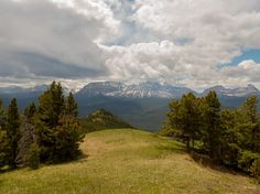 South ridge Cat Creek Hills