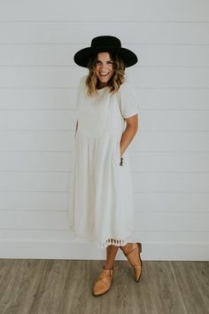 White Linen Dress   ROOLEE