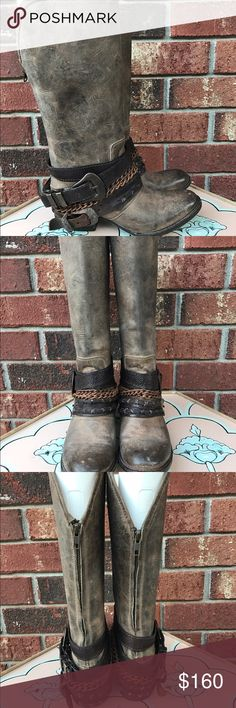 FREEBIRD by Steven Knox Boots- Stone GREAT used condition Freebird Shoes