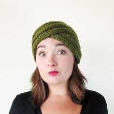 Image result for knit headband pattern
