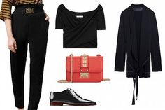 3 creative ideas to match your black top for a night out