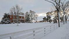 Ohio winter panorama