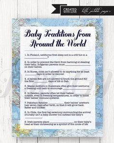 Baby Traditions Arou