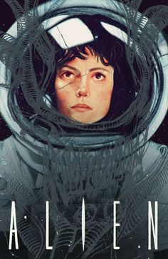 Alien: Ripley, an art print by Sarah Gonzales I Love Cinema, Cinema Tv, Cinema Posters, Science Fiction, Alien Film, Alien 1979, Alien Art, Plakat Design, Posters Vintage