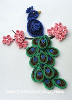 Image result for Wall Art Paper Quilling Designs