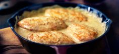 2 Step Honey Dijon Chicken  This is great with pork chops too...do them in the slow cooker.