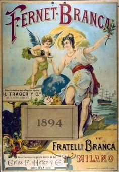 FERNET BRANCA POSTER 1894