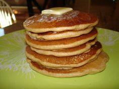 Feed Your Family: Whole Wheat Blender Pancakes